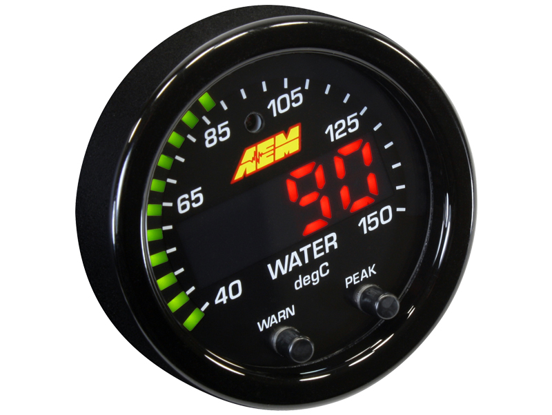 Fluid temperature gauge X-Serie