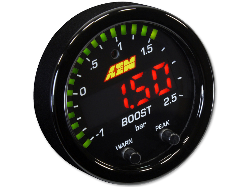 Boost gauge 2,5 bar X-Series