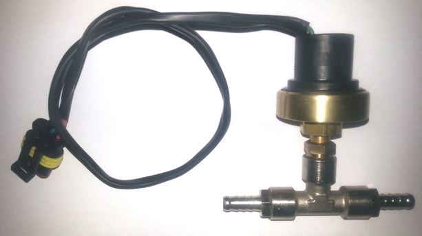 Pressure switch adjustable 0-0,5 bar