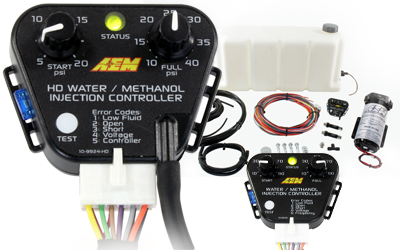 Water - Alcool injection kit 40 psi no tank