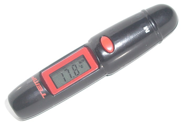 Mini temperature gauge no-contact
