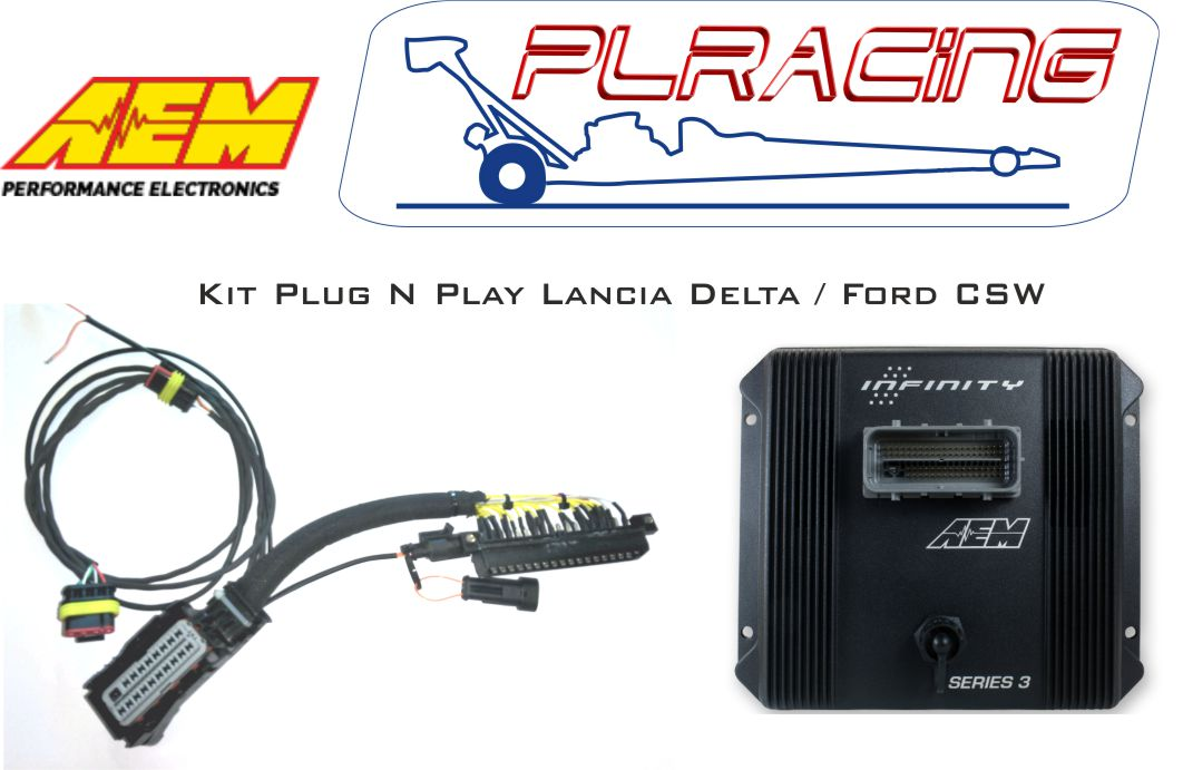 Standalone Plug and Play Infinity ECU for Lancia Delta, Fiat Cou